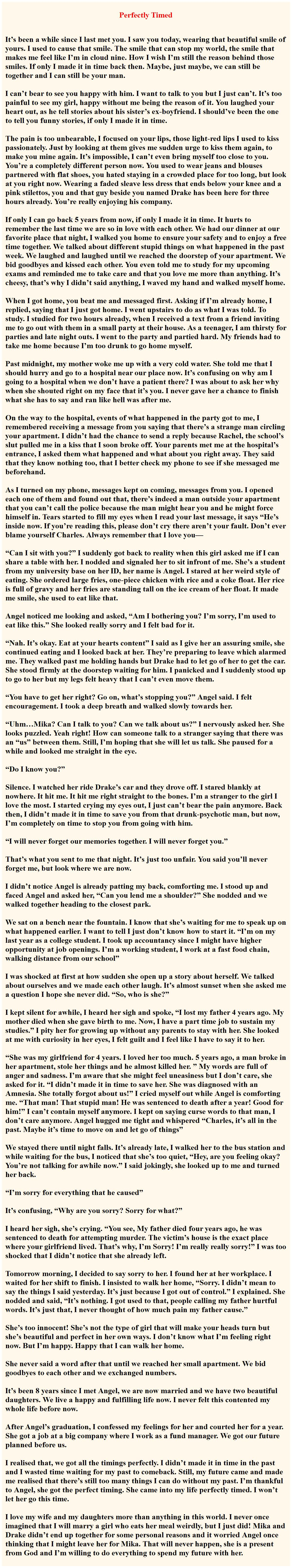 Cute bedtime story for your girlfriend