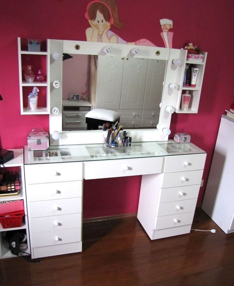 White Dressing Table With Mirror And Lights Dressing Table With Mirror And Lights White Dressing Tables Dressing Table Mirror