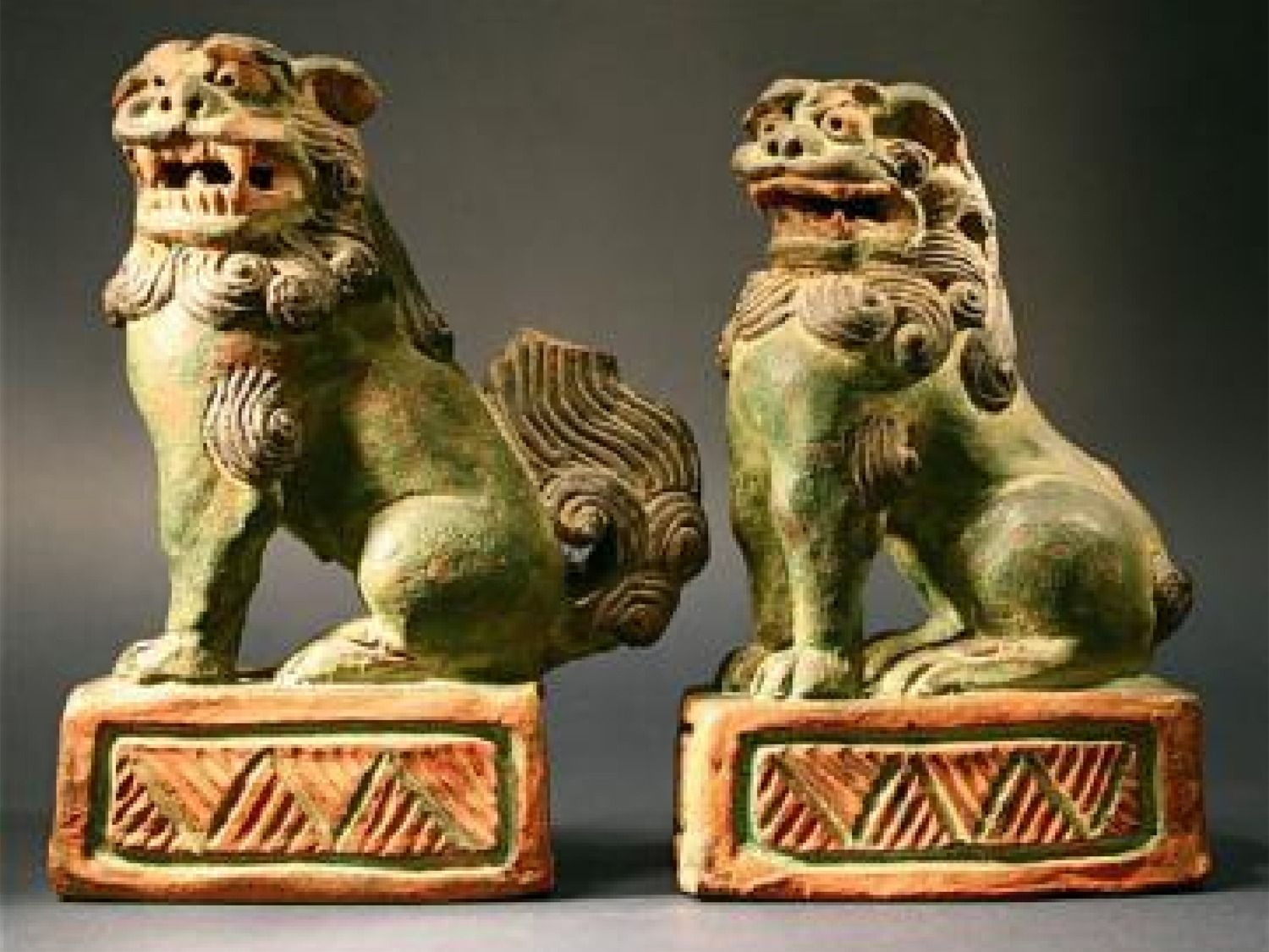 Asian Artifacts ancient chinese fu (foo) dogs/lions - google search | creative