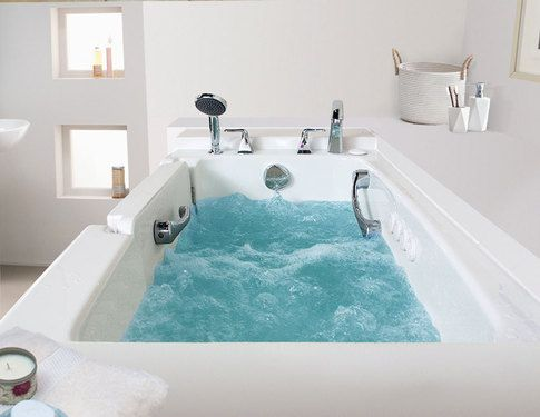Our Whirlpool Walk In Tub Gives You 10 Fully Adjustable Whirlpool