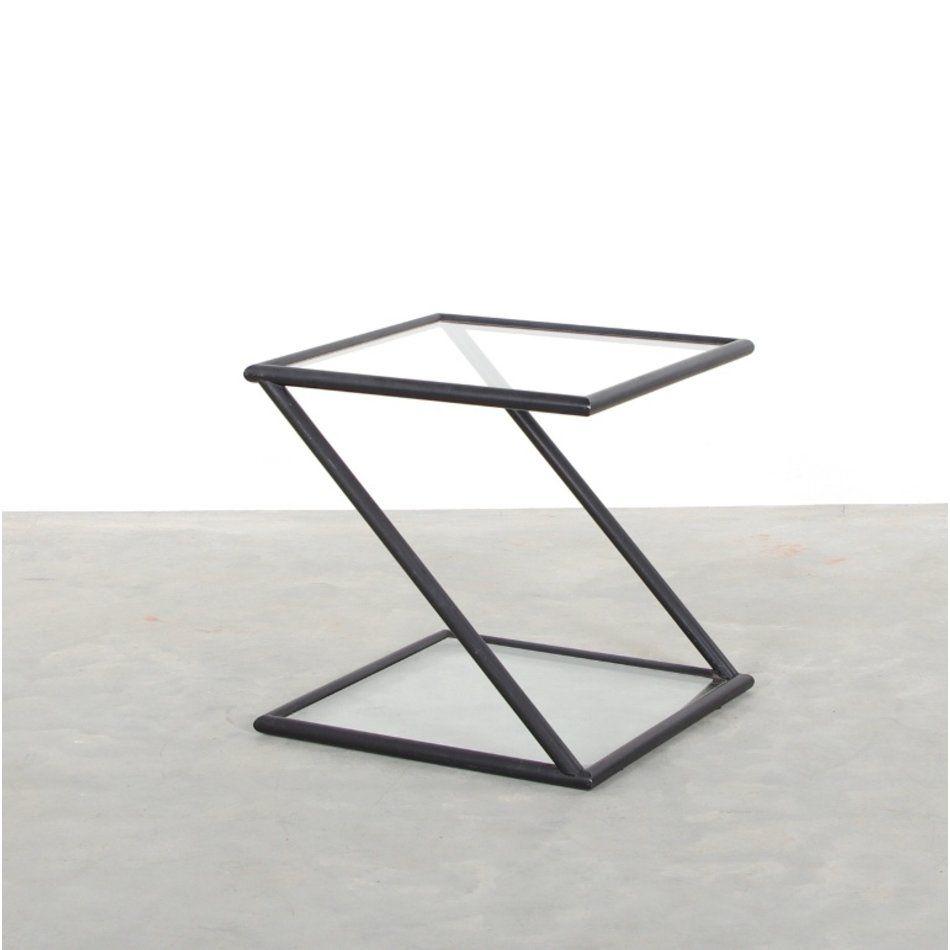 Harvink Design Salontafel.Harvink Salontafel Z Klein Model Zwart En Glas In 2020