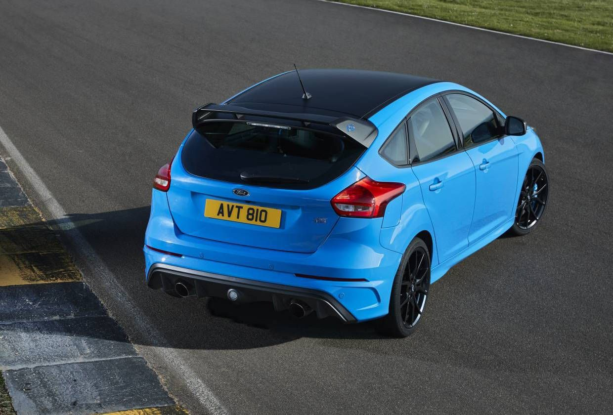 2017 Ford Focus Rs Limited Edition Rear Save Image Ford Focus