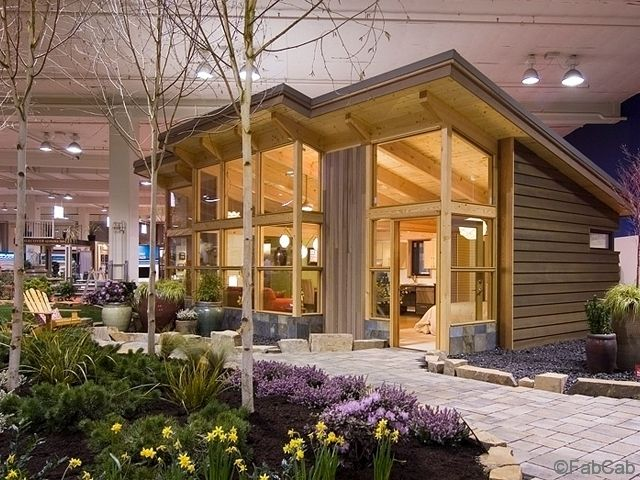 Tiny Timber Frame Pre Fab Homes From Tiny