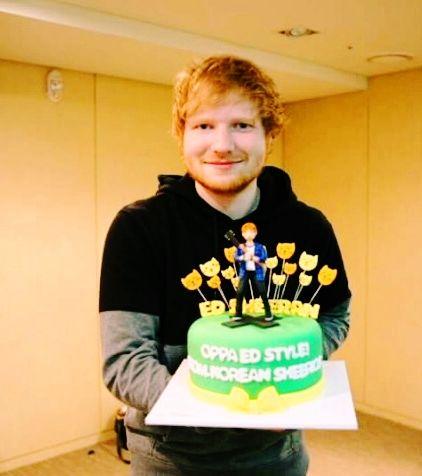 Happy Birthday Ed Ed Sheeran Love Music