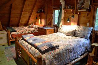 Rustic Cabin - Sleeping Loft