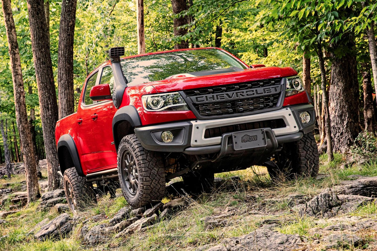 2019 Chevy Colorado Zr2 Bison Is Built For Gruelling Off Road