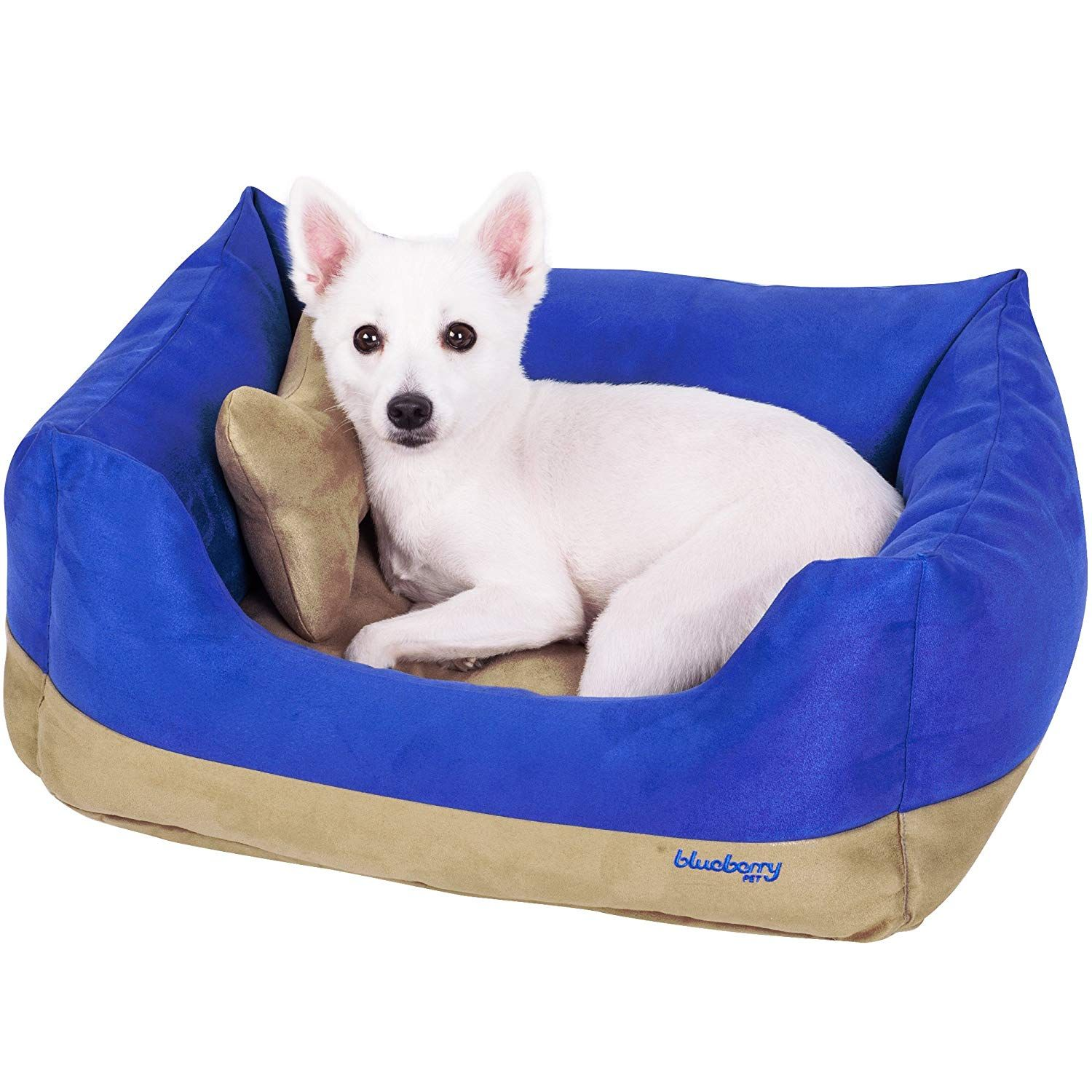 Blueberry Pet Heavy Duty Pet Bed or Bed Cover, Removable