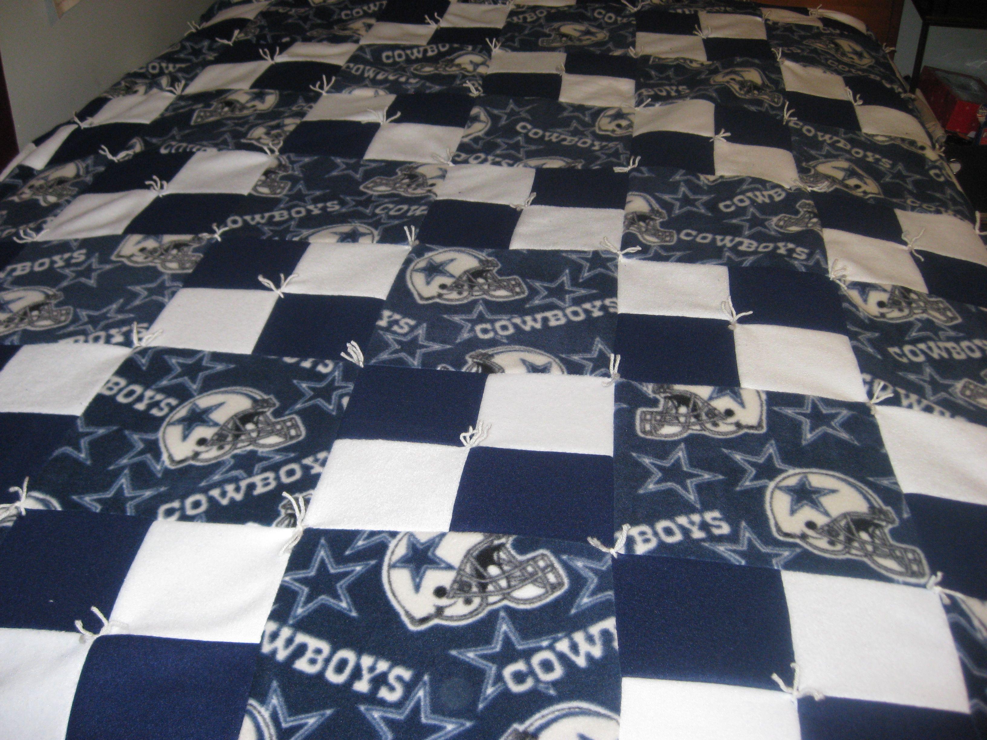 Dallas Cowboys Dallas Cowboys Blanket Cowboy Quilt