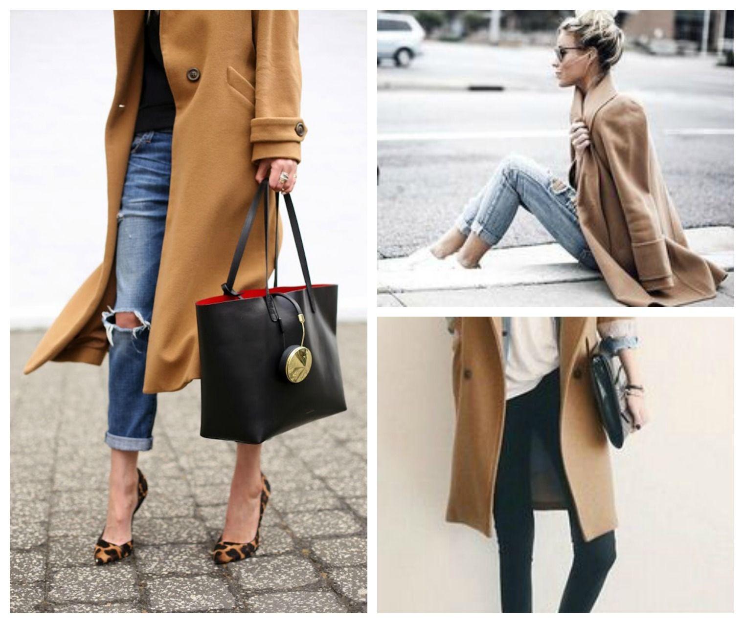 Style corner: come abbinare il cappotto cammello, alessia