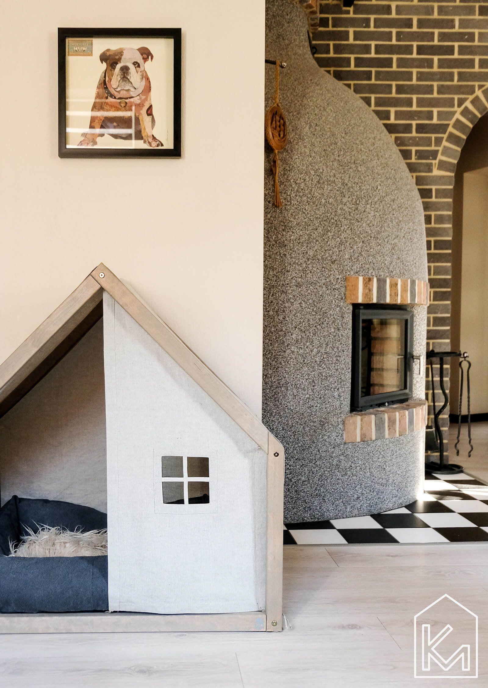 Modern Indoor Doghouses From Km Design Co Modern Dog Houses Dog