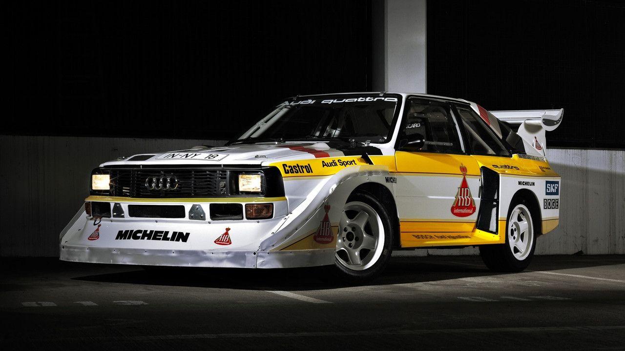 Audi Quattro S1 Group B Audi Audi Sport Audi Quattro