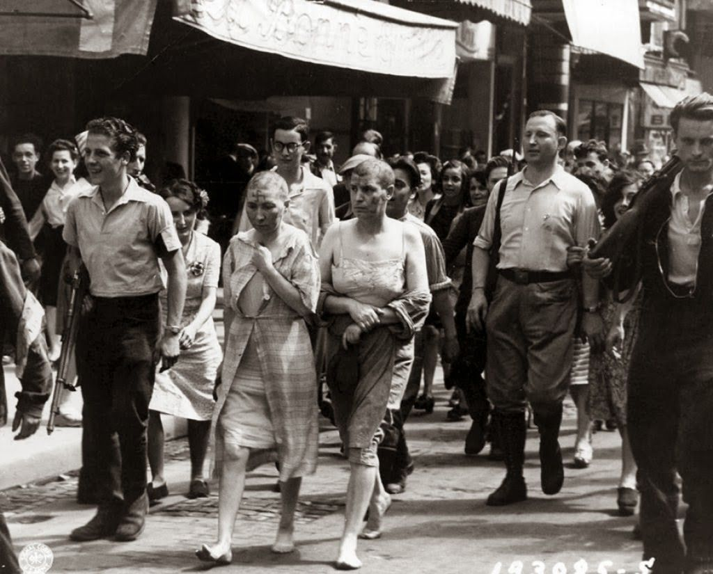 Shaved women 1944