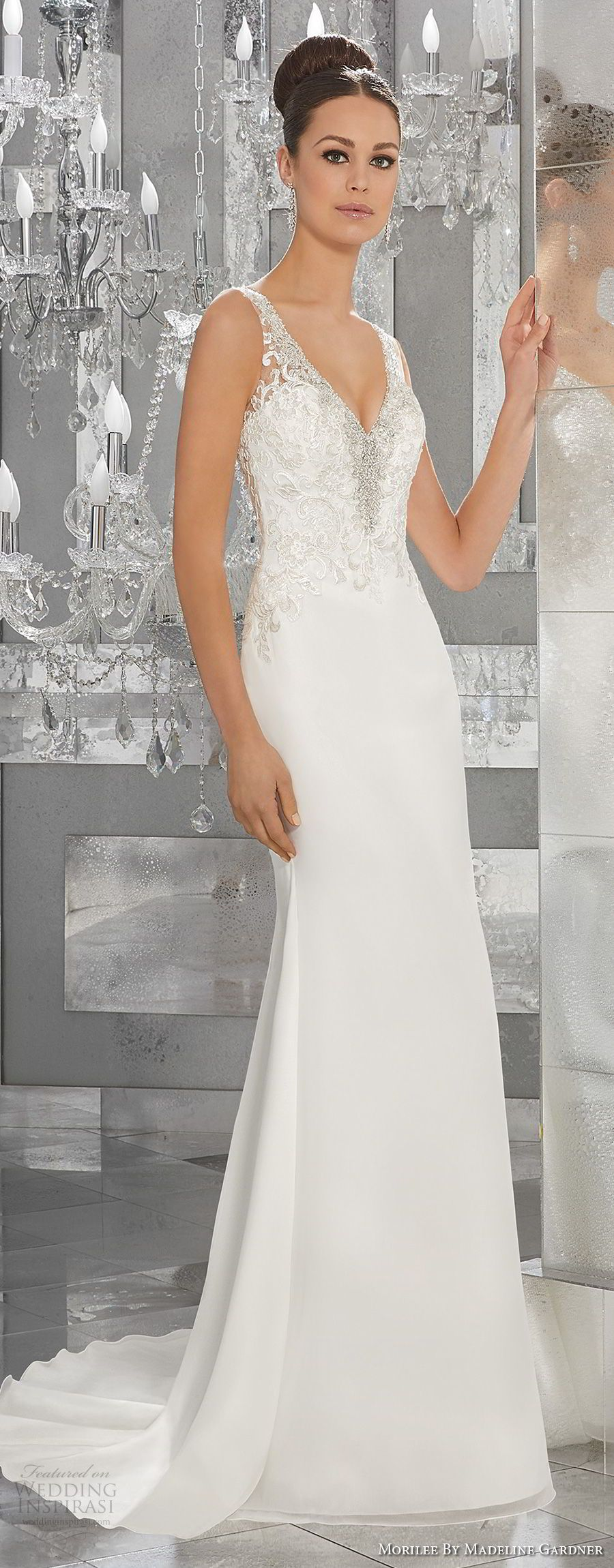 Mori lee madeline gardner wedding dress  Morilee by Madeline Gardner Fall  Blu Bridal Collection  Dream