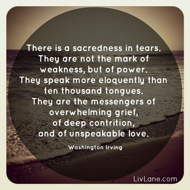 Grief Quote By Washington Irving There Is Sacredness In