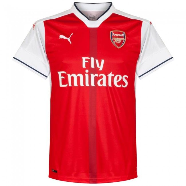 Camiseta Del Arsenal 2016 2017 Local Arsenal Gunners Camisetas Camiseta De Fútbol Camisas