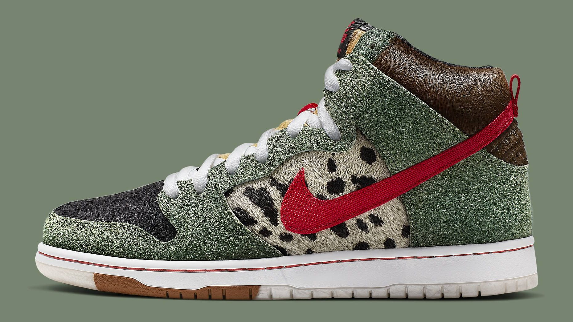 sports shoes cc280 2ce15 Nike SB Dunk High  Dog Walker  Release Date   Sole Collector