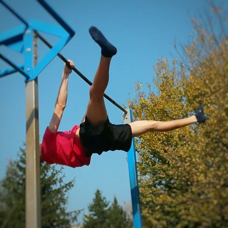 Image result for straddle front lever