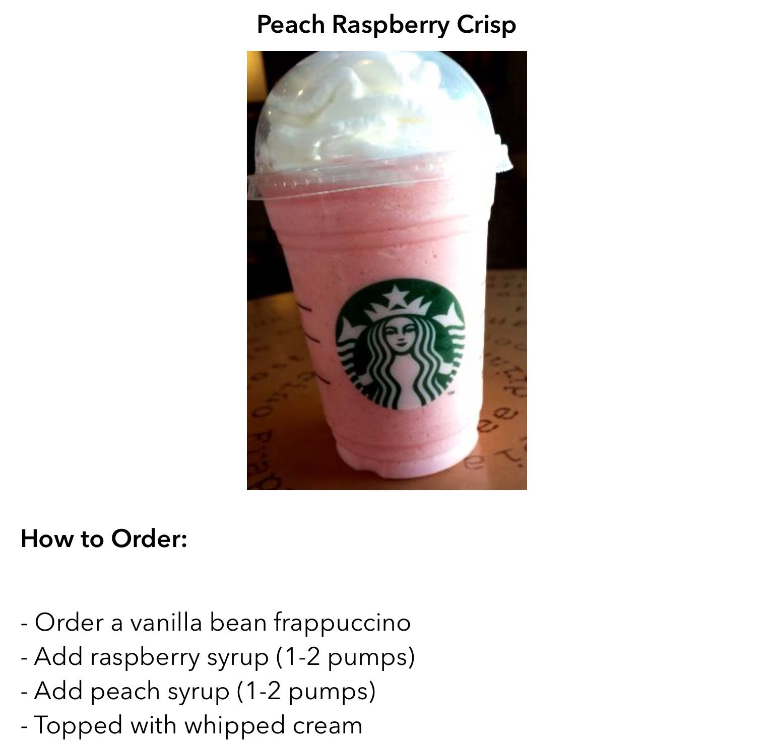 The Buckeye Frappuccino | Copy Cat Recipes | Pinterest ...