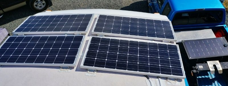 Detailed Look At Our Diy Rv Boondocking Power System Solar Panel Cost Best Solar Panels Solar Panels