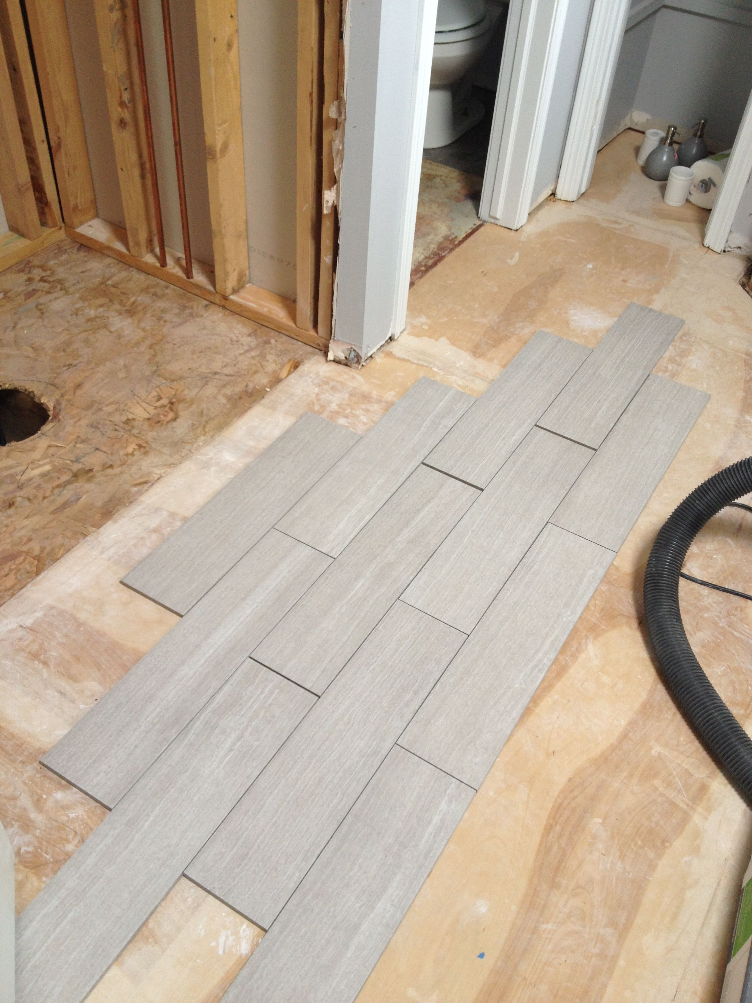 Light gray floor tile | Gray tile bathroom floor, Bathroom ...