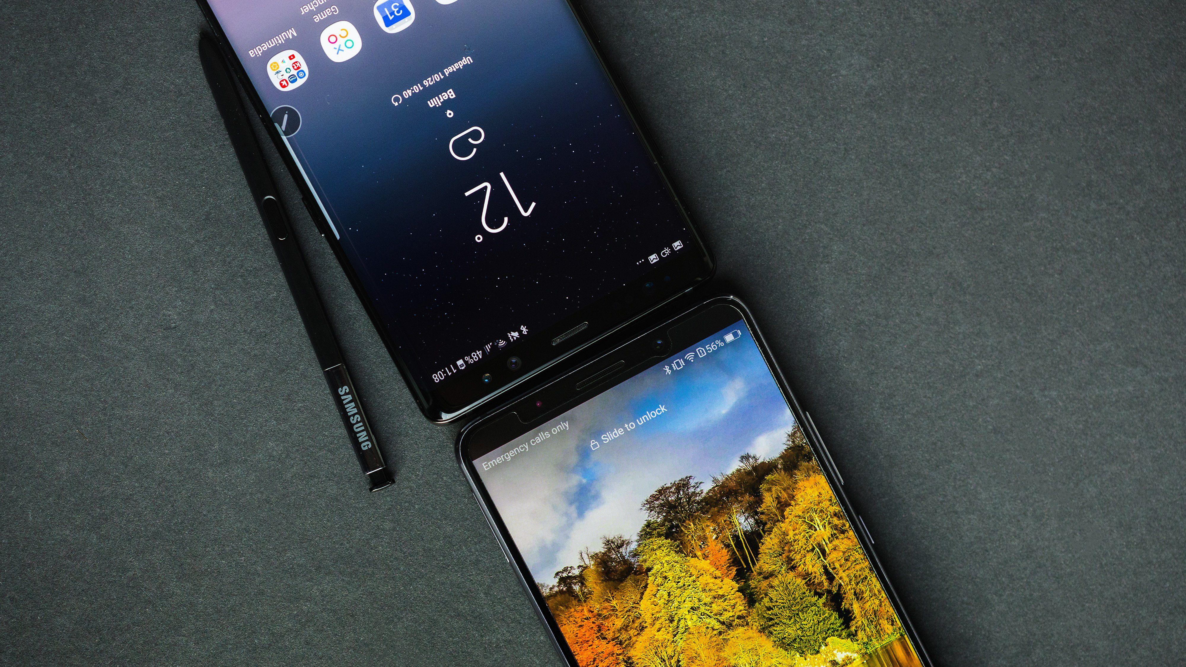 Huawei Mate 10 Pro vs Galaxy Note 8: The big battle