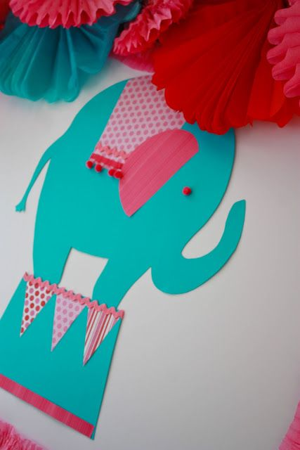 Bright and Girly Circus Party by Taste{Full}
