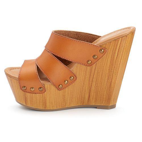 Candie's Women's Wedge Platform Shoes