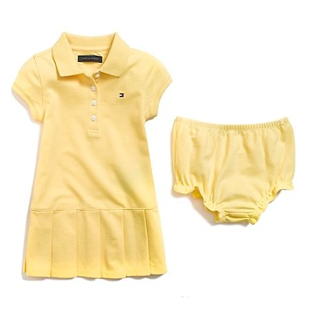 Polo Dress   Tommy Hilfiger USA   tommy Hilfiger baby girl ... ebe37368bf99