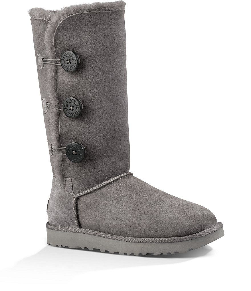 Discount Fashion Style UGG Bailey Button Triplet II Boot(Women's) -Chestnut 2 Free Shipping Lowest Price Geniue Stockist For Sale For Sale Online From China Low Shipping Fee 8j8PHU