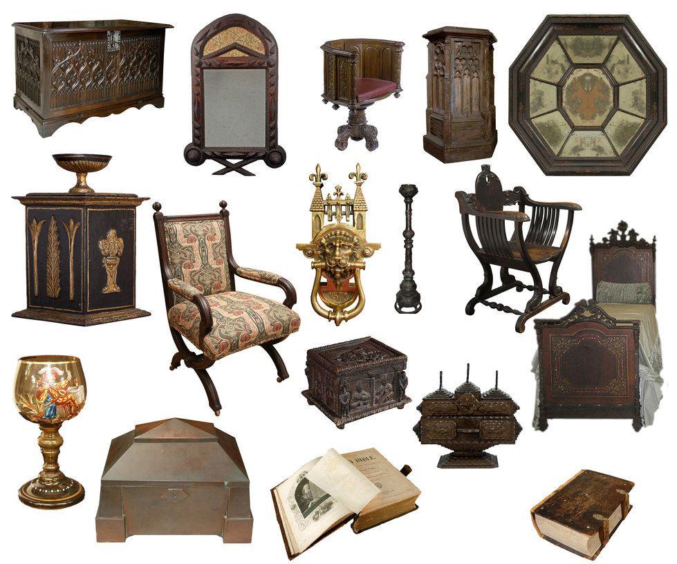 Imagenes de muebles y objetos al estilo medieval cute - Muebles epoca salamanca ...