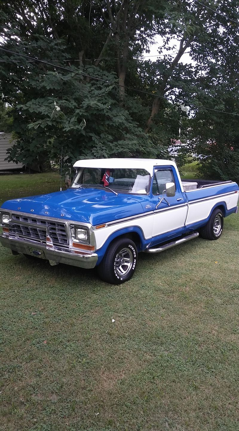 Pin By Krista Weiss On 70 S Ford Trucks Ford Pickup Trucks 79 Ford Truck Classic Ford Trucks