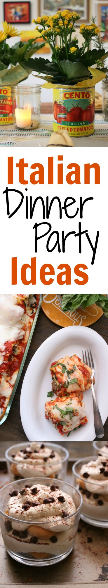 American Themed Dinner Party Ideas Part - 19: An Easy Dinner Party Menu For Effortless Entertaining. Itu0027s Kid Friendly  And Budget Friendly, Filled With Italian Flavor Including A Twist On  Lasagna.