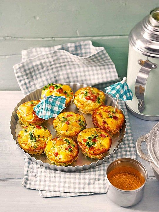 Tortilla - Muffins | Super coole Party-Rezepte | Muffins ...