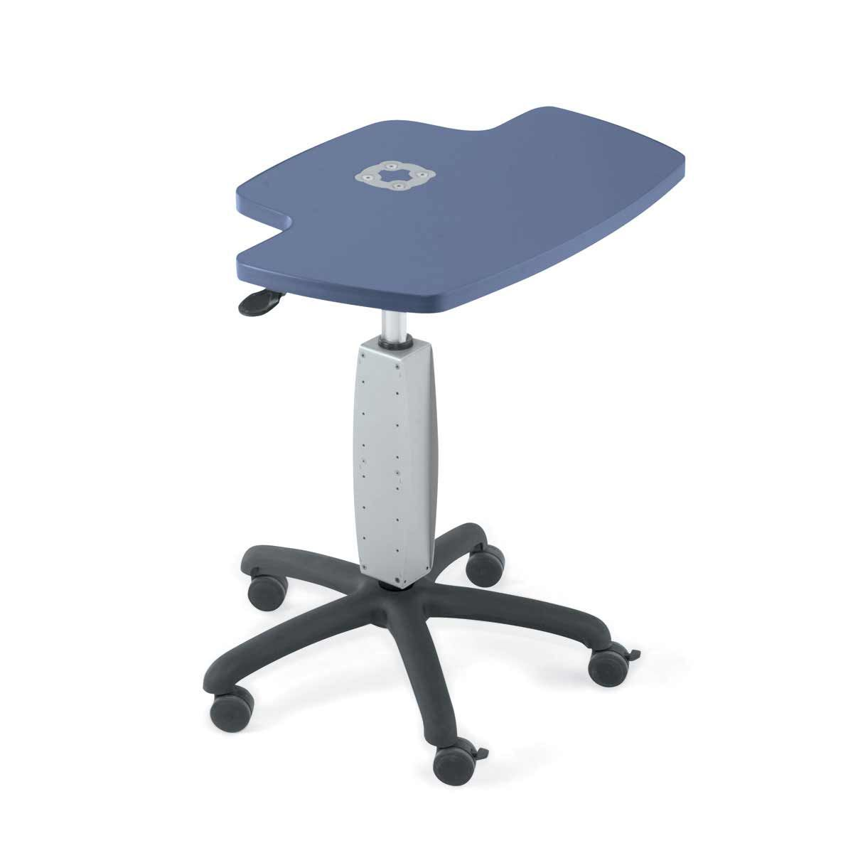 Anthro Height Adjustable Mobile Laptop Cart. SLJ