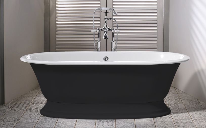v&a elwick -anthracite | victoria & albert freestanding bathtubs in