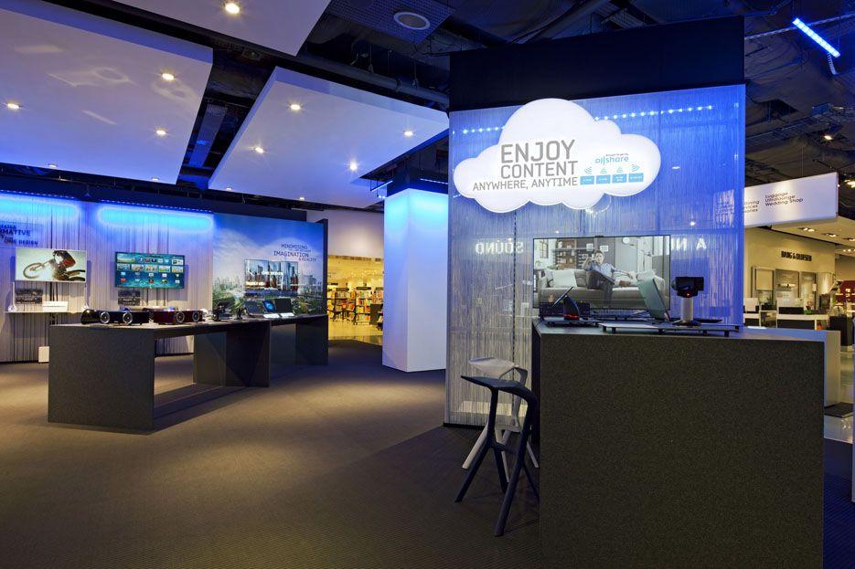 Retail design shop design electrical store interior for Retail interior designers in london