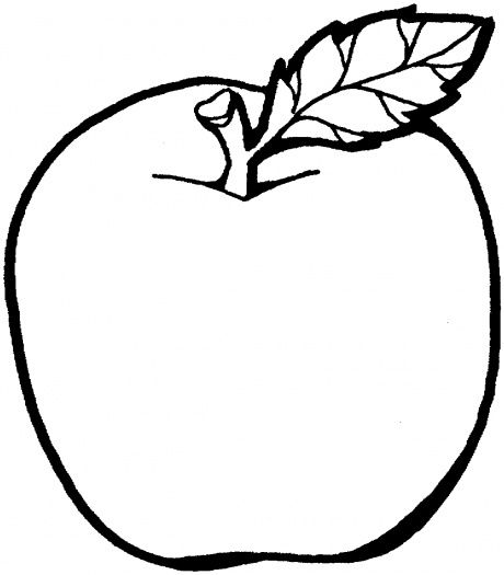 Apple 2 Coloring Page Super Coloring Apple Coloring Pages Apple Clip Art Fruit Coloring Pages
