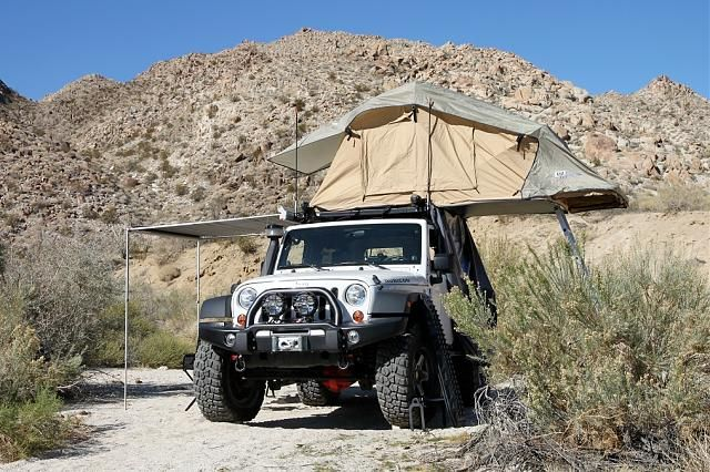 Delightful Jeep + Rooftop Tent U003d Perfection