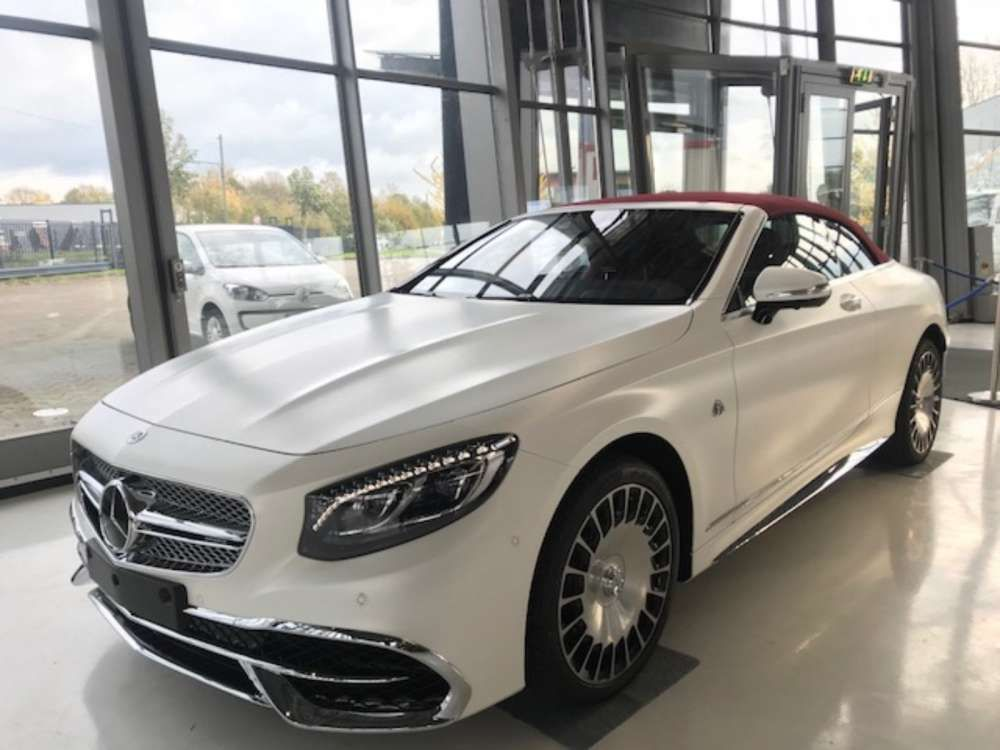 2018 Mercedes Benz Maybach S 650 Carbiolet Limited Edition 1 300
