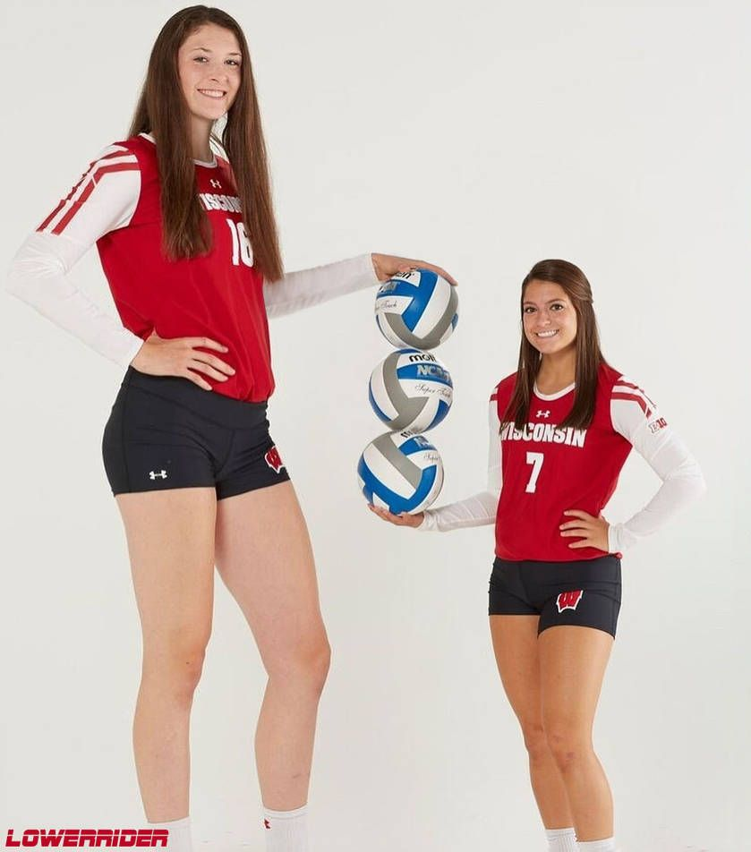 Tall And Short Volleyball Players By Lowerrider On Deviantart Volleyball Players Tall Girl Tall Women