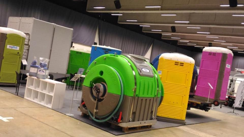 Innovative Mobile Restrooms Exhibits at the 2017 EUROTOI | T blustar ...