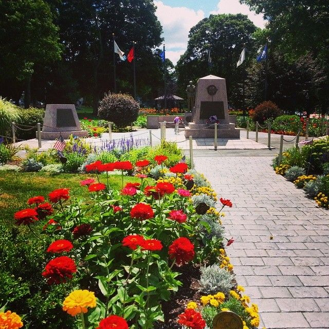 The Franklin Town Common Is Blooming Beautifully Franklinma Flowers