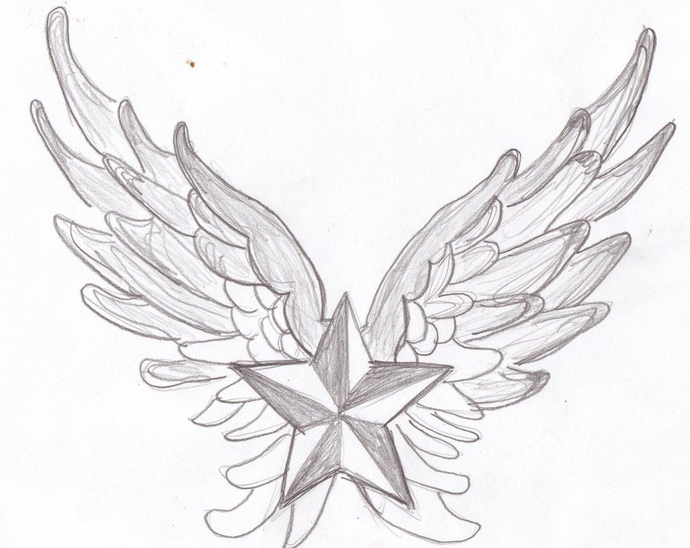 Nautical star with angel wings google search tattoo ideas nautical star with angel wings google search reheart Gallery