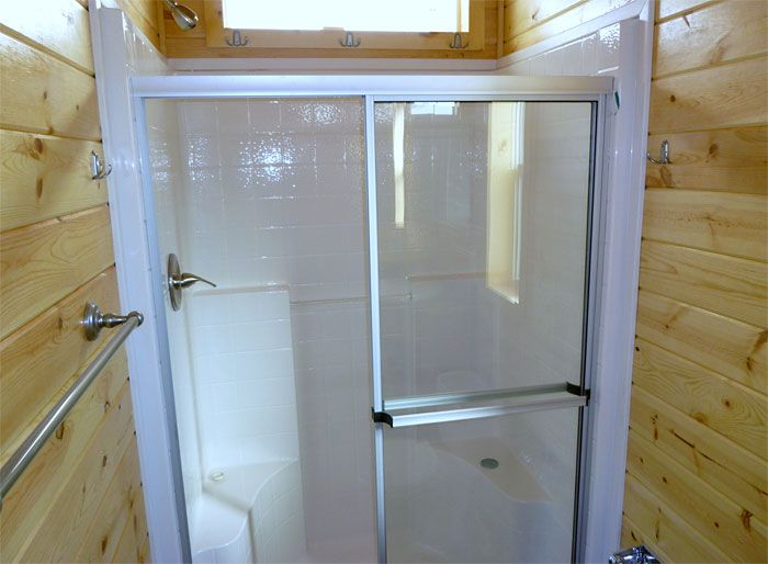 Etonnant Showers For Mobile Homes Bathrooms | 48in Shower Stall And Shower  Door,towel Bar And Hooks