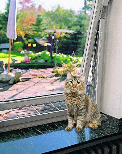Trixie 4417 Schutzgitter Fur Fenster Eckig 65 C3 97 16 Cm Weiss