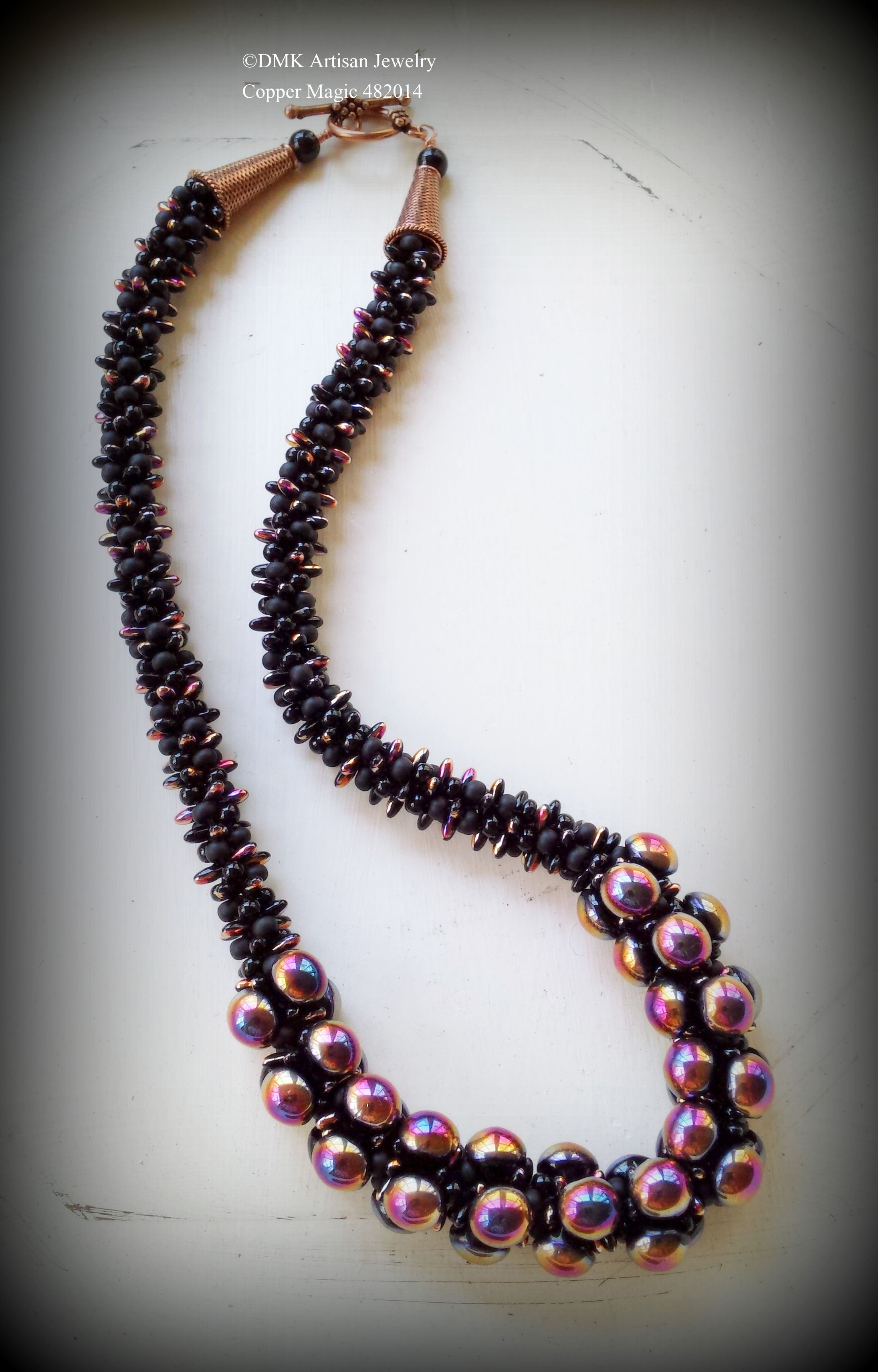 Kumihimo Necklace | Kumihimo | Pinterest | Collares, Bisuteria y Cuentas