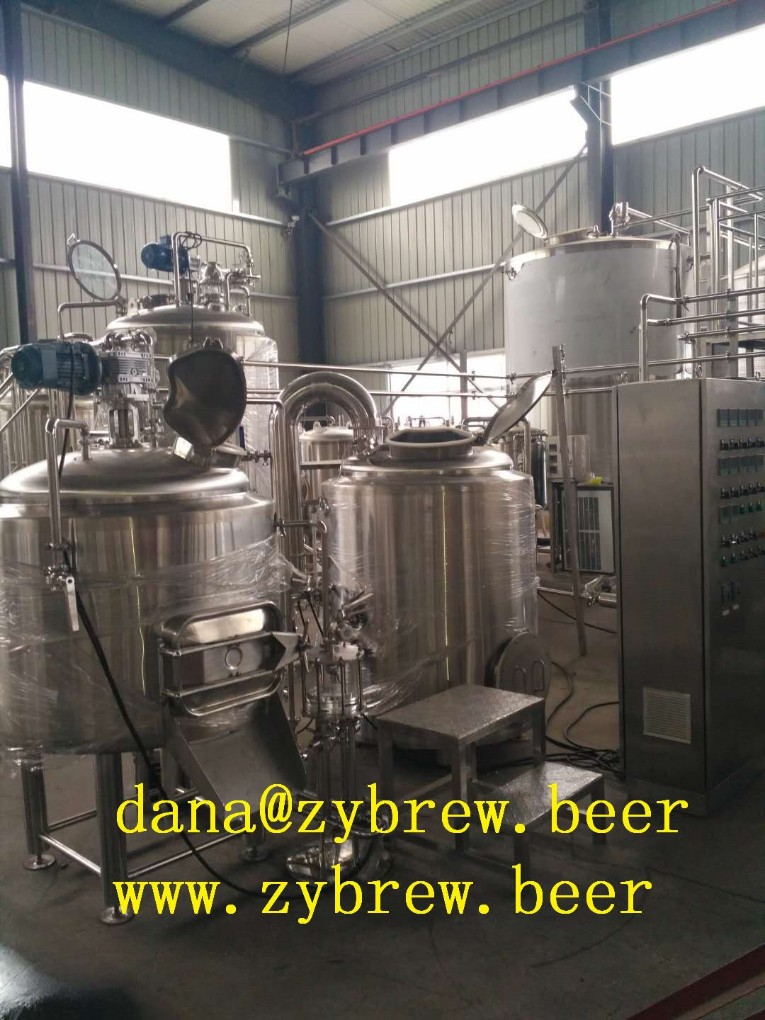 This Is A 300l Brewery System For Usa Market The Basice Configuration Is As Below 1 Brehouse Beer Brewing Equipment Home Brewery Brewing Equipment