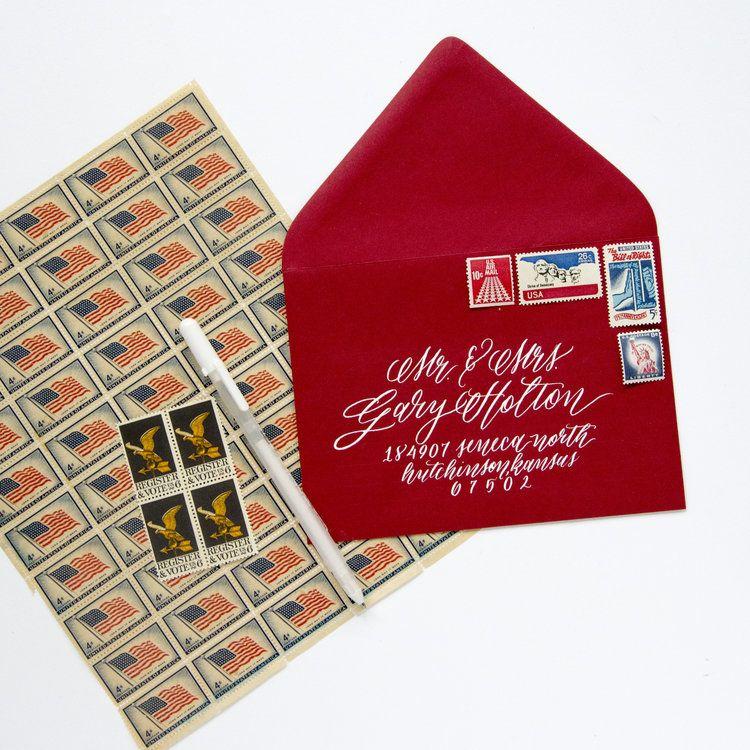 Americana Vintage Stamp Set Vintage stamps, Stamp