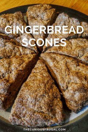 Easy gingerbread scones recipe