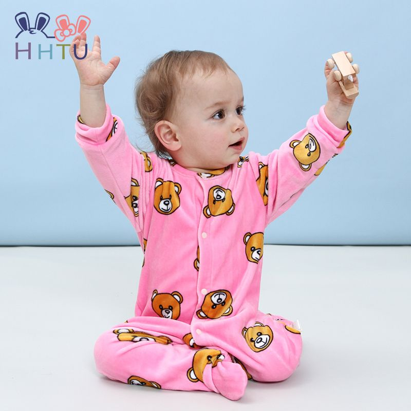 1c50bb037 HHTU New 2017 Autumn Winter Baby Rompers Clothes Long Sleeved ...